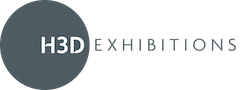 H3D Exhibition Design and Build Logo