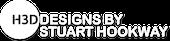 H3D exhibition Design Logo