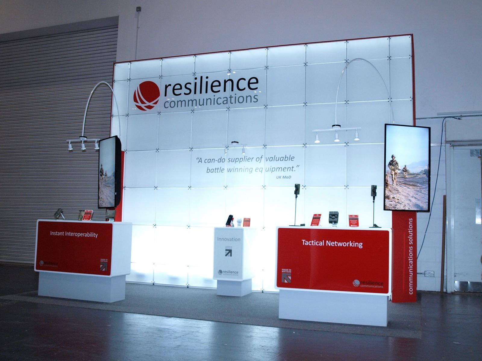 Exhibition Stand Design Devon : Design of modular exhibition stand for dsei at excel u h d
