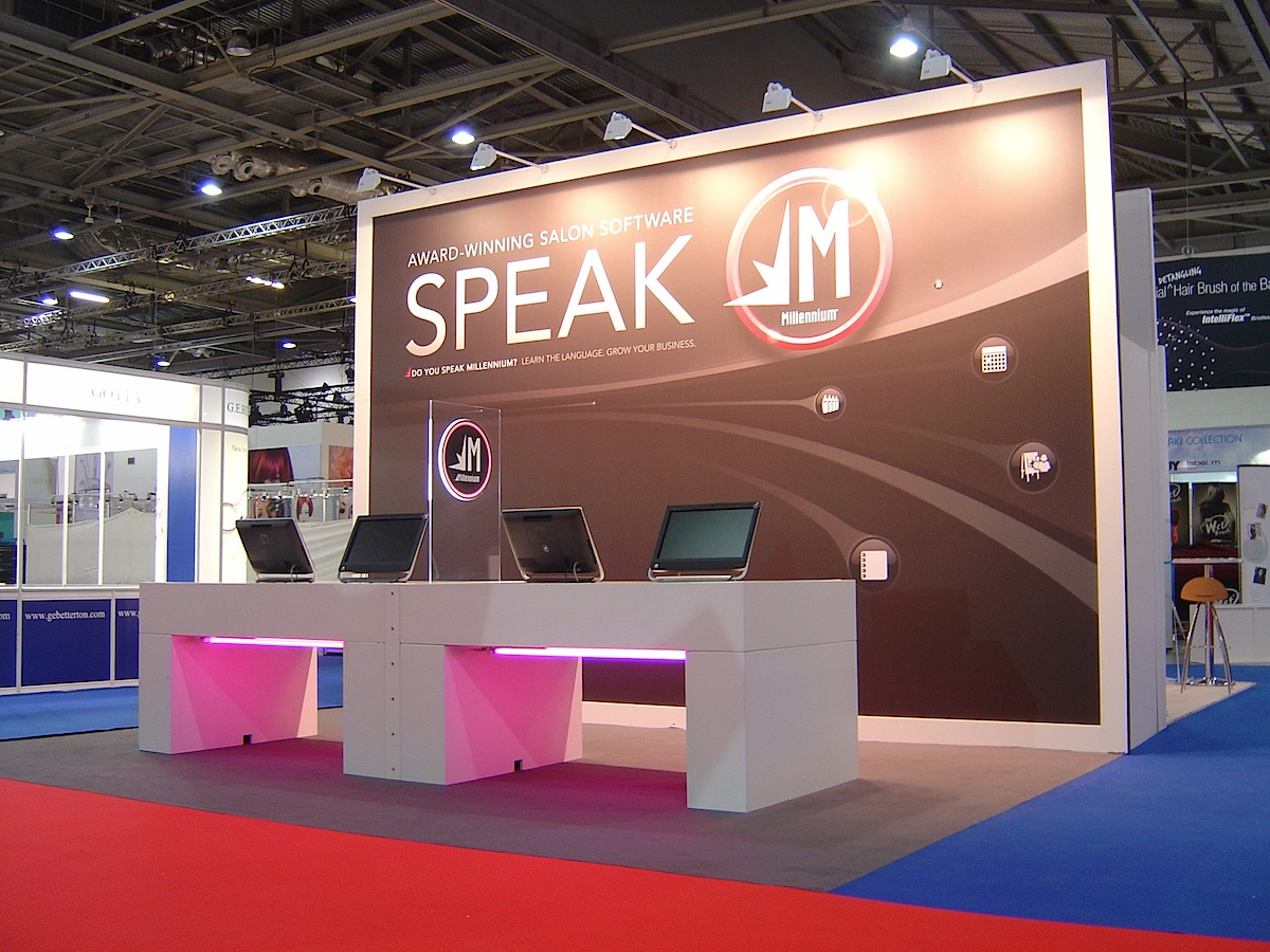 Reusable Exhibition stand