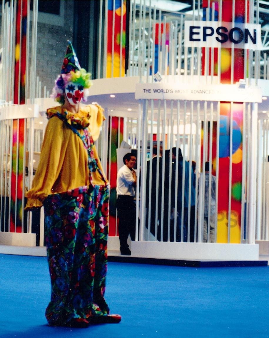 show promotion clown