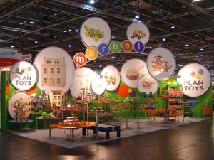 toy fair exhibition design build