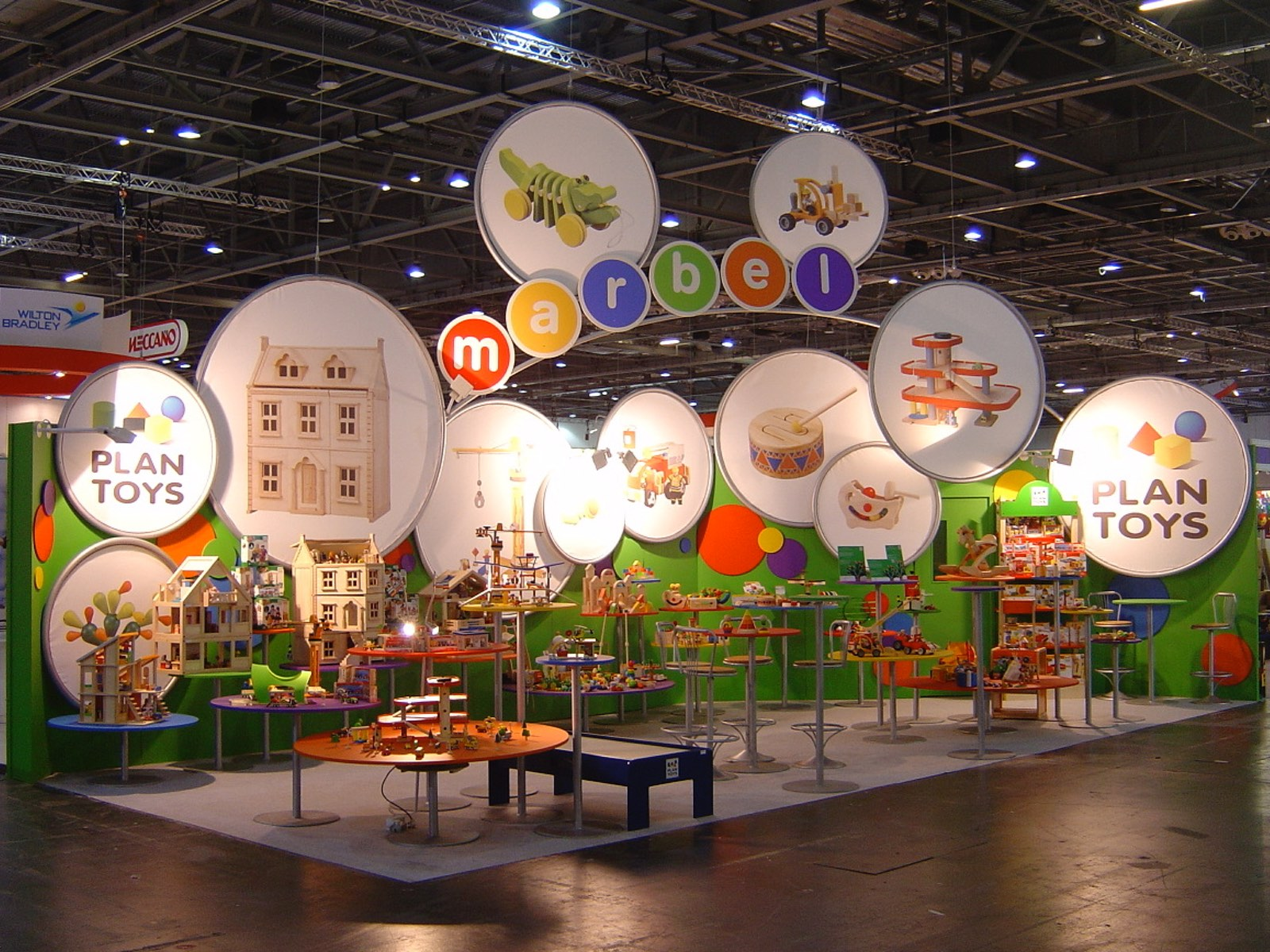 toy fair exhibition design build