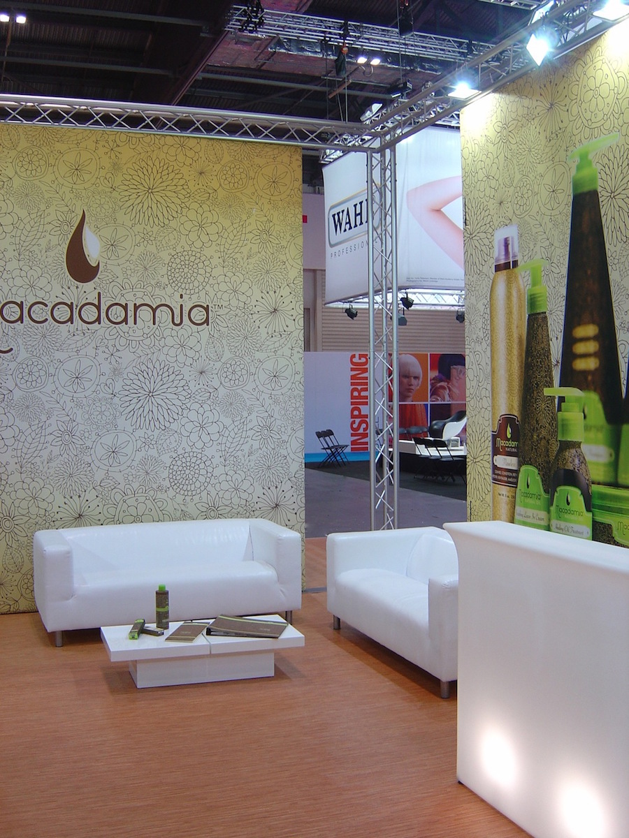 exhibition flooring graphics furniture