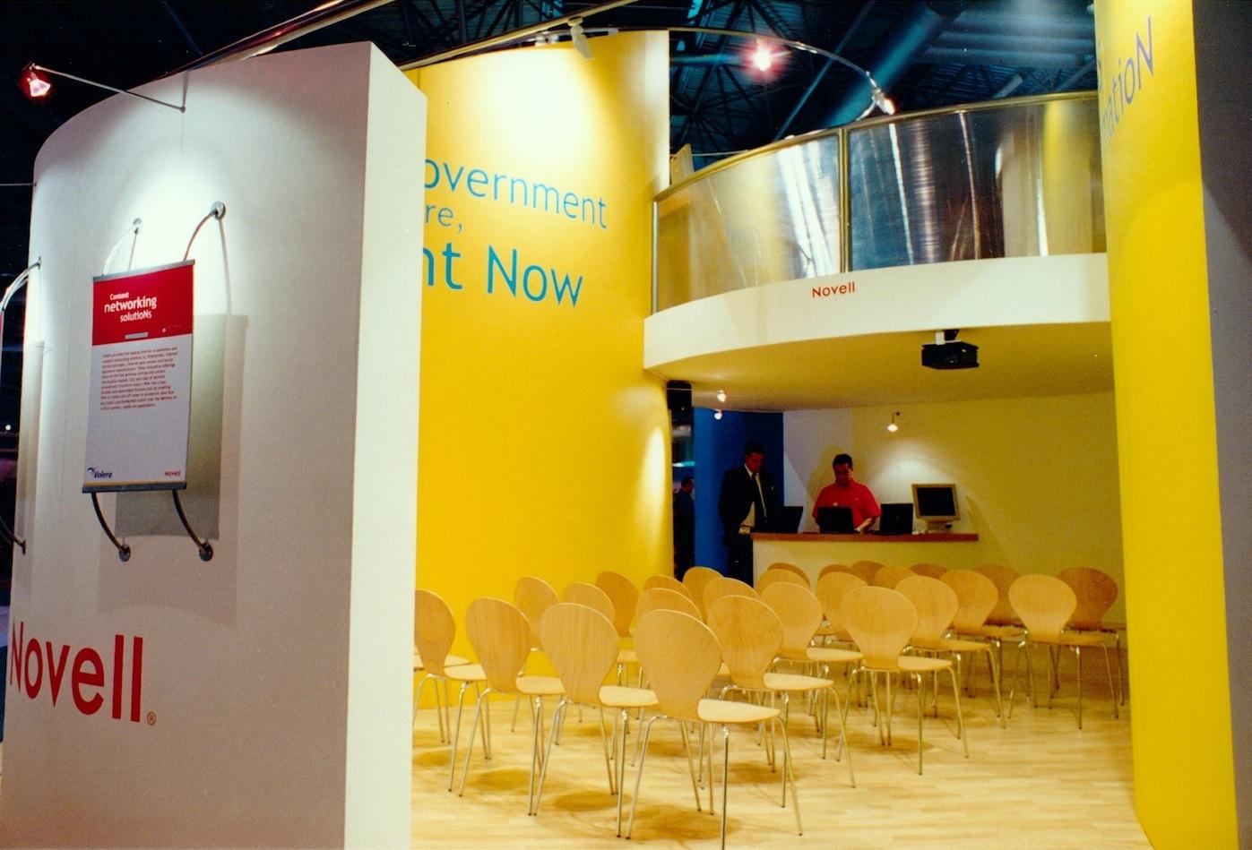 exhibition presentation area