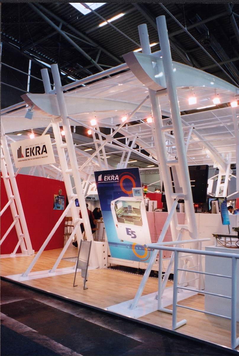 reusable steel exhibition design