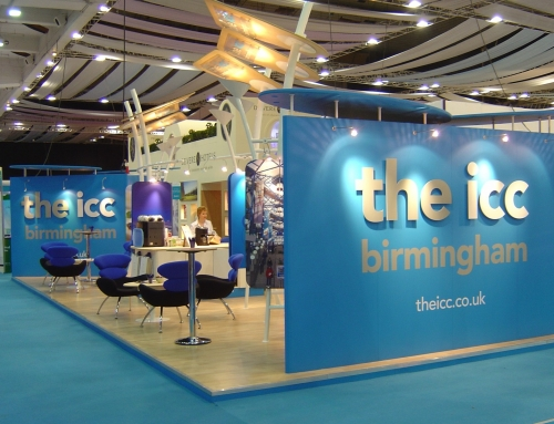 Design of exhibitions for the NEC and ICC.